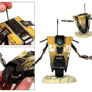 Borderlands Claptrap Yellow Collectible Figure by Neca, в Ивантеевка