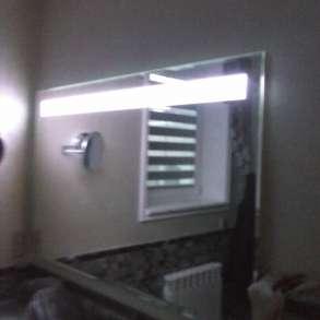 Зеркало, Цельностеклянные перегородки, в г.Алматы