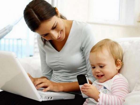 Работа для мамочек в декрете, студентов и всех желающих)