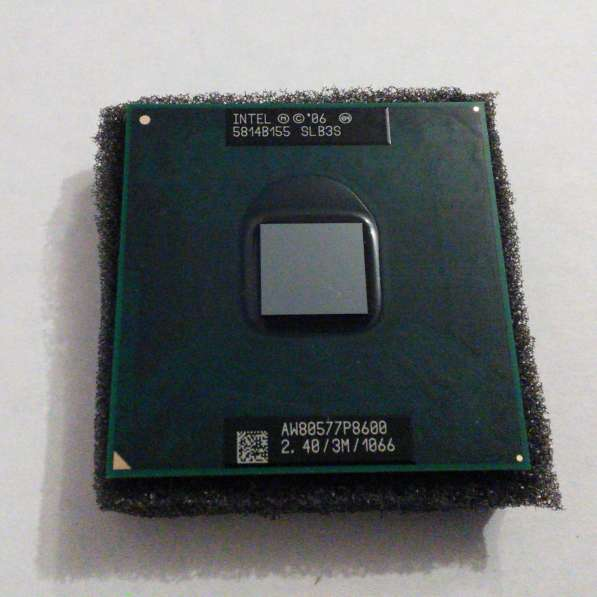 Продам процессор Intel Core 2 Duo P8600 2.4GHz 3Mb 1066GHz
