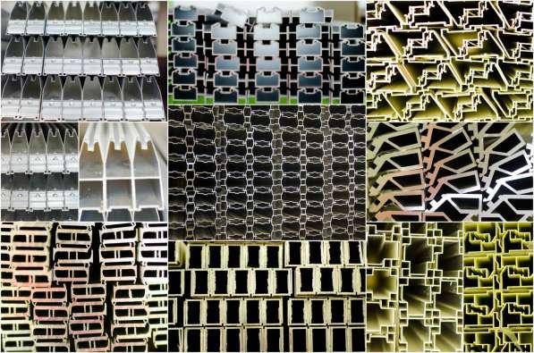 Перегородки и двери из алюминиевого профиля в Казани фото 4