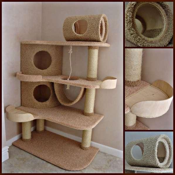 Изготовление комплексов и домиков для кошек на заказ в Ростове-на-Дону фото 6