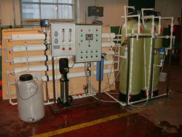 Установка обезжелезивания воды от 1 - 50 м3/час Сокол
