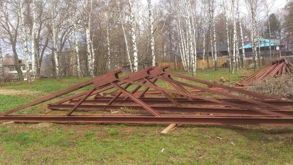 Металлические фермы для перекрытия крыши
