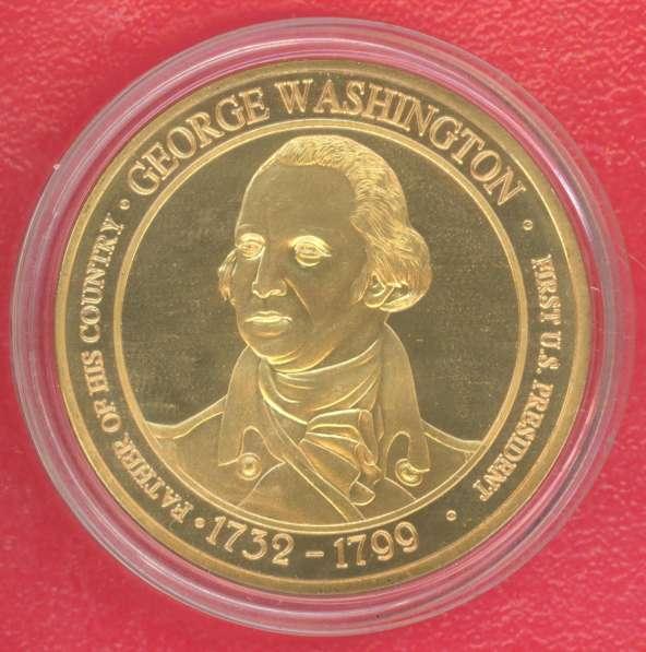 Жетон Медаль США Джордж Вашингтон