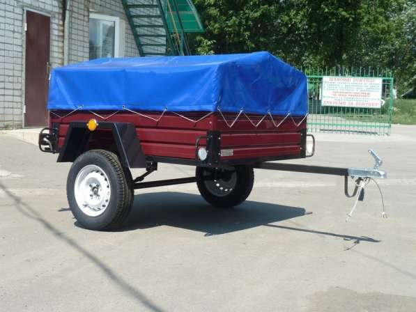 Продам прицеп к легковому автомобилю Лев - 16