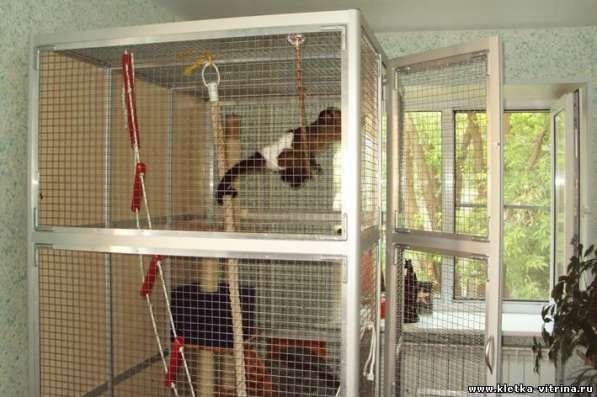 Клетки - вольеры для обезьян, лемуров в Москве фото 4