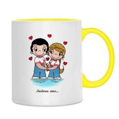 Love is кружка. с фото