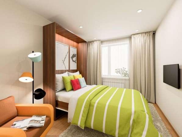 2-комнатная квартира 24 кв. м в Жилом квартале Тетрис