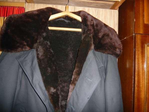 Мужская куртка на овчине