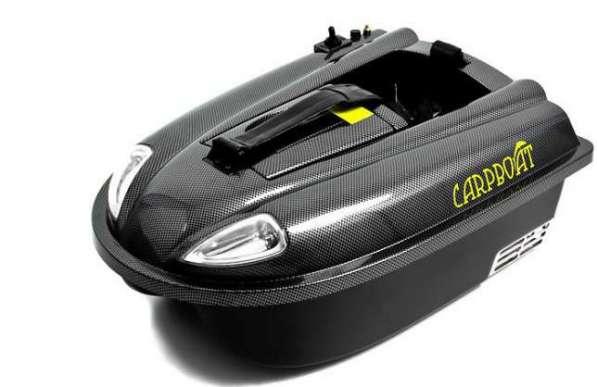 Кораблик для прикормки рыбы Carpboat Mini Carbon, рыбалка
