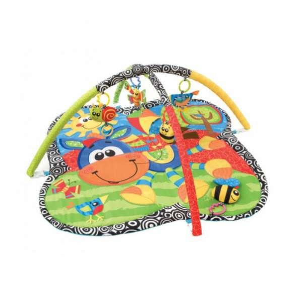 Коврик с дугами и игрушками