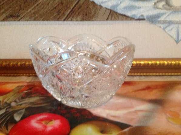 Хрустальная ваза - 2 шт.