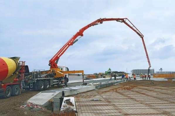 Аренда бетононасоса в Воронеже