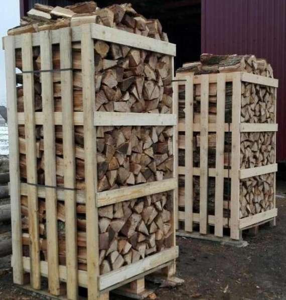 Свежие колотые дрова: дубовые, берёзовые, хвойные (ель/сосна