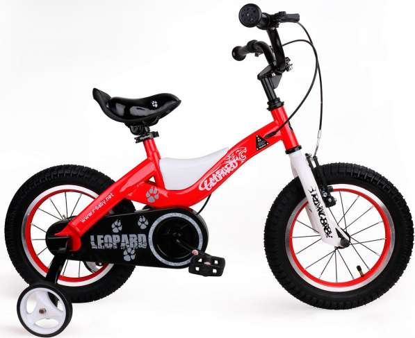 "Детский велосипед Royal Baby Leopard Steel 16"""
