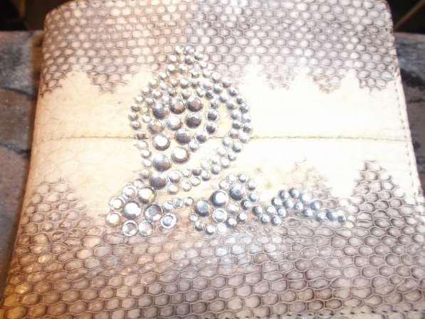 Кошелёк из кожи морской змеи