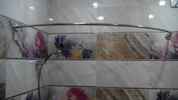 Карнизы, штанги, перекладины для шторки в ванную в Краснодаре фото 13