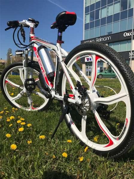 Электровелосипед Porshe 350W. Велосипед в