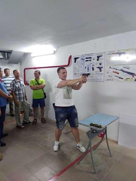 Обучение охранников 4-6 разрядов,. Услуги стрелкового тира в Омске