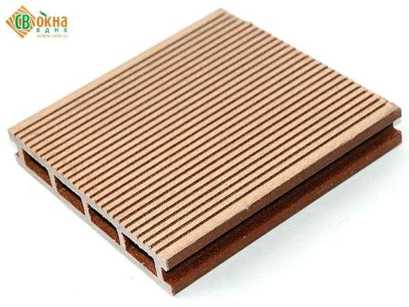 Террасная доска (декинг) древесно-полимерная MasterDeck вель