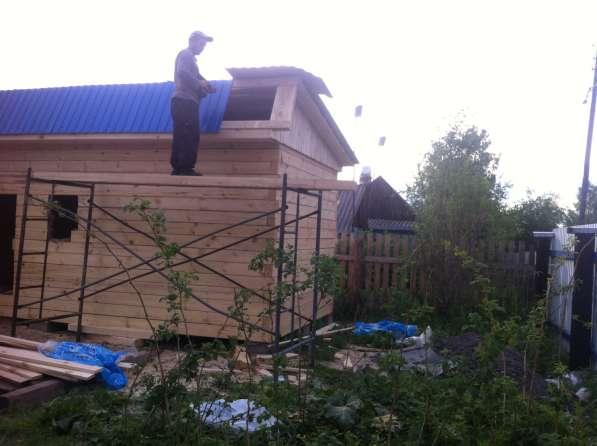 Продаем брусовые бани под ключ в Красноярске
