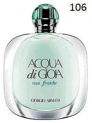 """Французские духи """"Giorgio Armani Acqua Di Gioia"""""""
