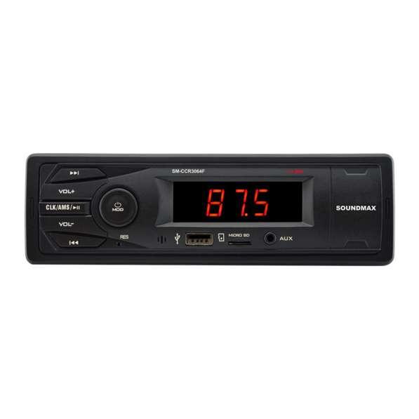 Автомагнитола с USB SOUNDMAX SM-CCR 3064F microSD, AUX