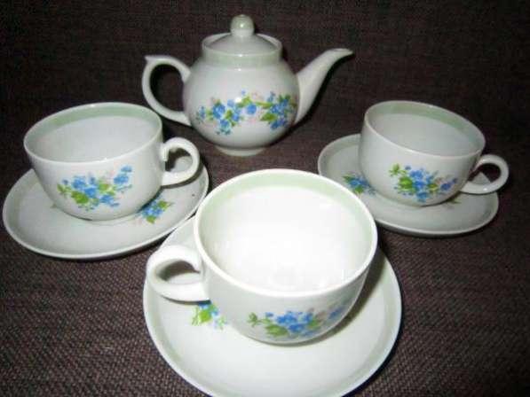 Фарфоровый чайный детский сервиз, Дулёво