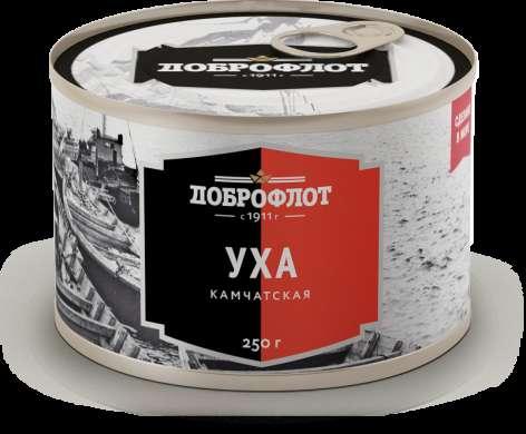 """Уха камчатская """"Доброфлот"""", 250 г (Приморский край)"""