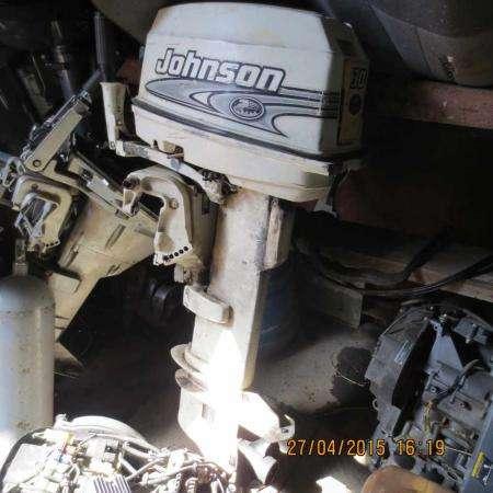 лодочный мотор JONSON 50 , на запчасти , нога L, из Японии,,