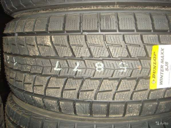 Новые зимние Dunlop 235/50 R18 Winter Maxx SJ8