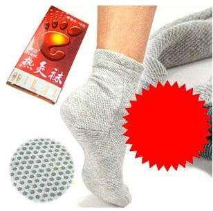 Носки с турмалином, самонагревающиеся