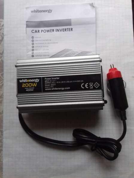 Инвертор 12в-220в с USB мощность 200вт