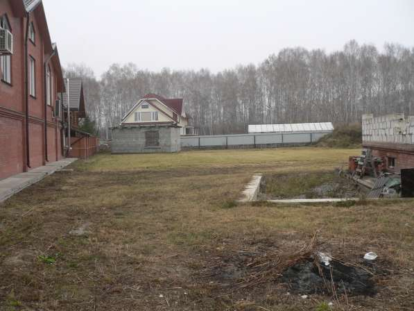 Земельный участок с недос.коттедж,газ.вода,эл в Бердске фото 6