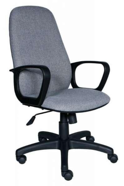 808 серый офисное кресло