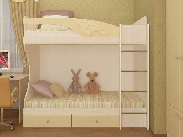 Кровать детская Бемби (двухярусная)