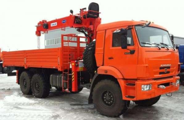 КМУ 7т. Канглим KS1256 G2 на шасси КамАЗ-43118