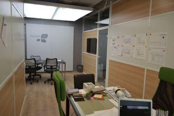 Стеклянные перегородки офисные, мобильная перегородка в Екатеринбурге фото 9