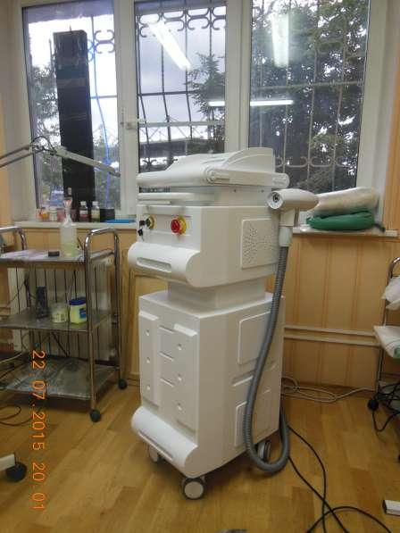 Косметологический лазер, удаление тату + карбон. пил