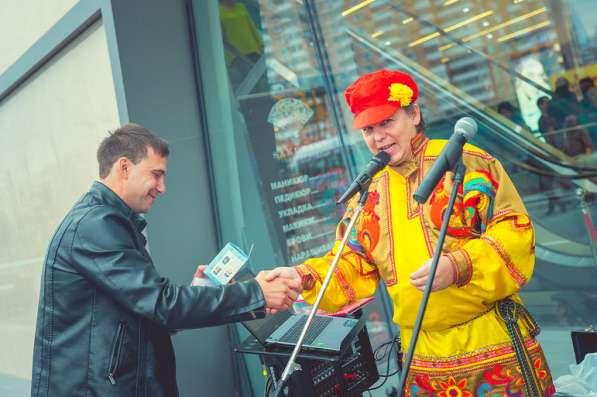 Ведущий юбилея Виктор Баринов в Королёве