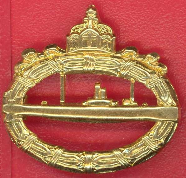 Германия Пруссия Боевой знак подводника ПМВ
