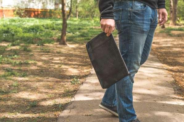 Мужская сумка из кожи питона в Москве фото 5