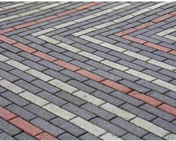 Укладка тротуарной плитки в Омске фото 3