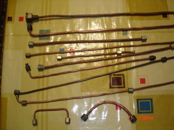Медные трубки для гидравлики со штуцерами