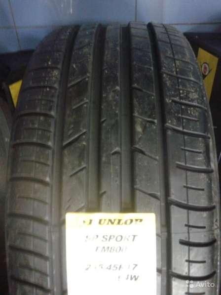 Новые комплекты Dunlop 215/55 R18 SP Sport FM800