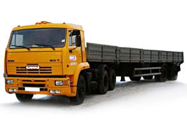 Аренда бортового полуприцепа 20 тонн длинномеры (вездеходы)