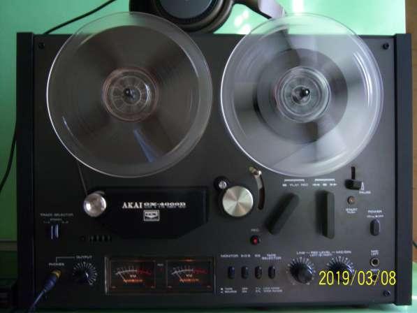 Магнитофон AKAI GX4000D бобинник, катушечный, Япония,220v в Екатеринбурге фото 9