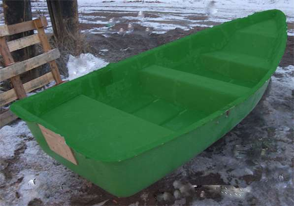 Продам весельную лодку из стеклопластика в Челябинске
