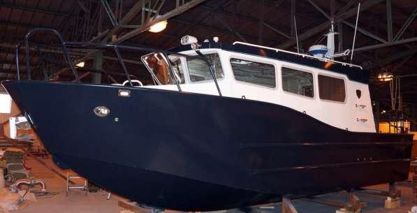 Новый морской катер Баренц 900 в Архангельске фото 15